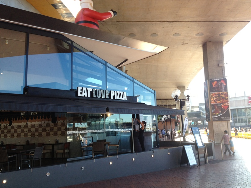 Eat Love Pizza, Darling Harbour