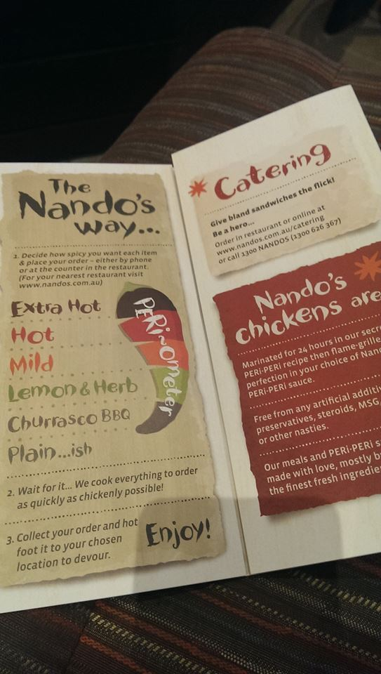 Nandos, Rouse Hill