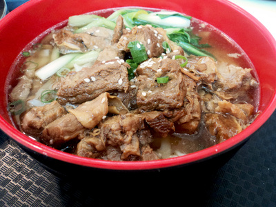 Braised beef, noodle soup