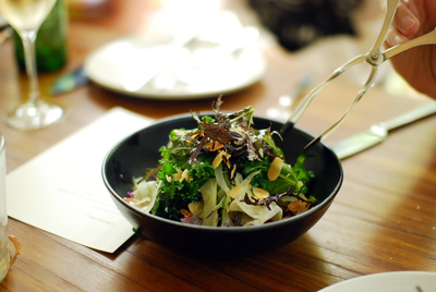 Chiswick Restaurant NSW Collective Menu Salad
