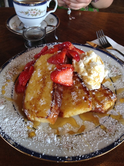 Go to dish: French Toast with Strawberries and Ricotta