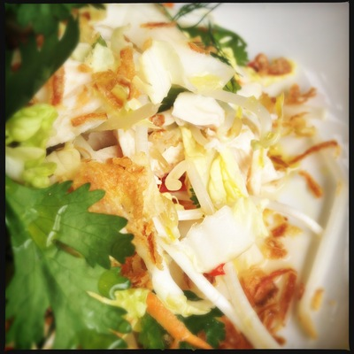Vietnamese Chicken salad 2
