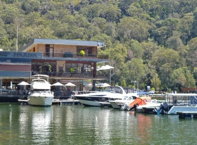 berowra waters fish cafe, berowra waters