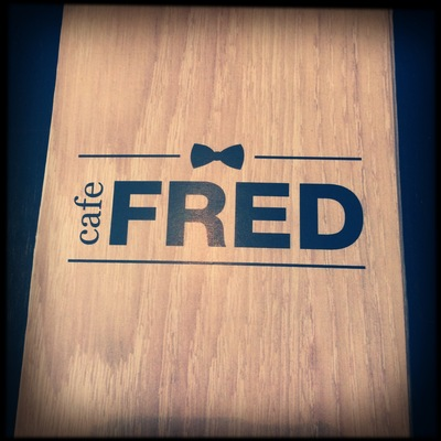 entry to cafe fred