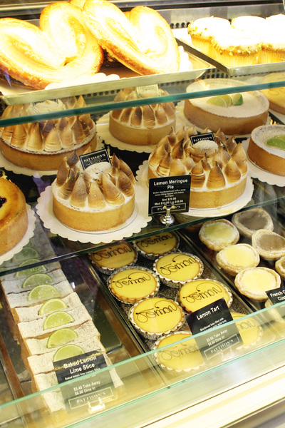 Pattison's Patisserie tarts
