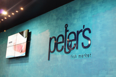 Peter's Fish Market fresh seafood