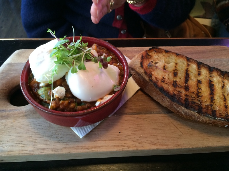 A tower of fluffy deliciousness   - The Moody Chef, St Leonards
