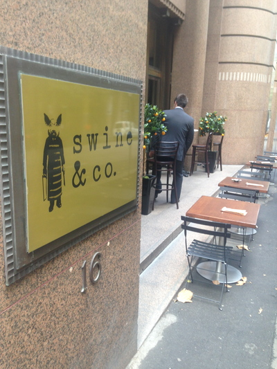 swine and co sydney, swine and so sydney city, swine and co
