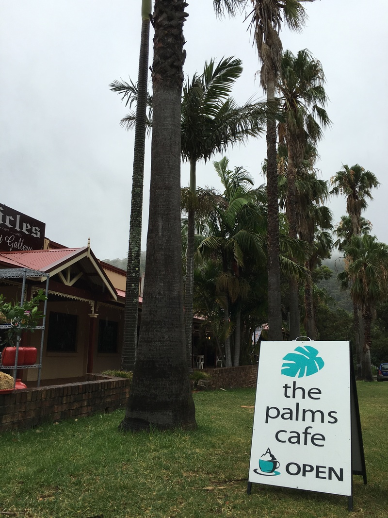 The Palms Café view  - The Palms Cafe - Stanwell Park