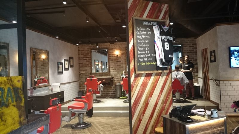 Hair Salon Cafe Design