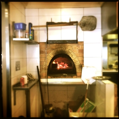 the wood fire oven
