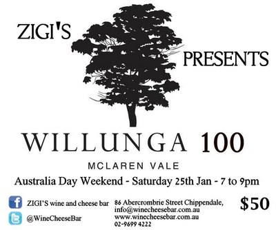 willunga 100 wine tasting, zigis art wine and cheese bar