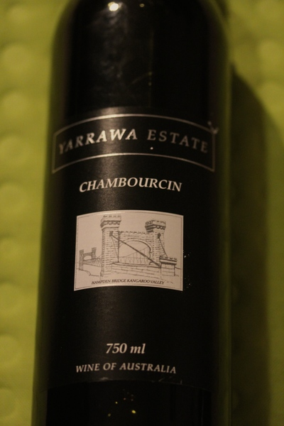 Yarrawa Estate wine 1